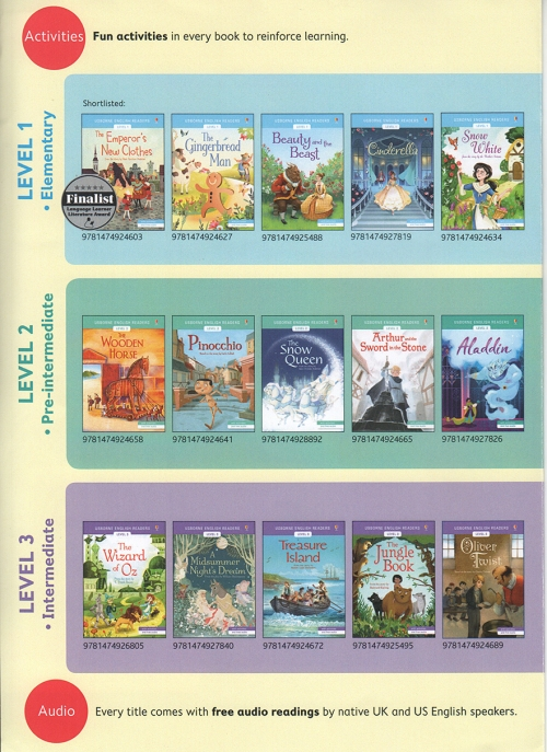 Usborne titles scan