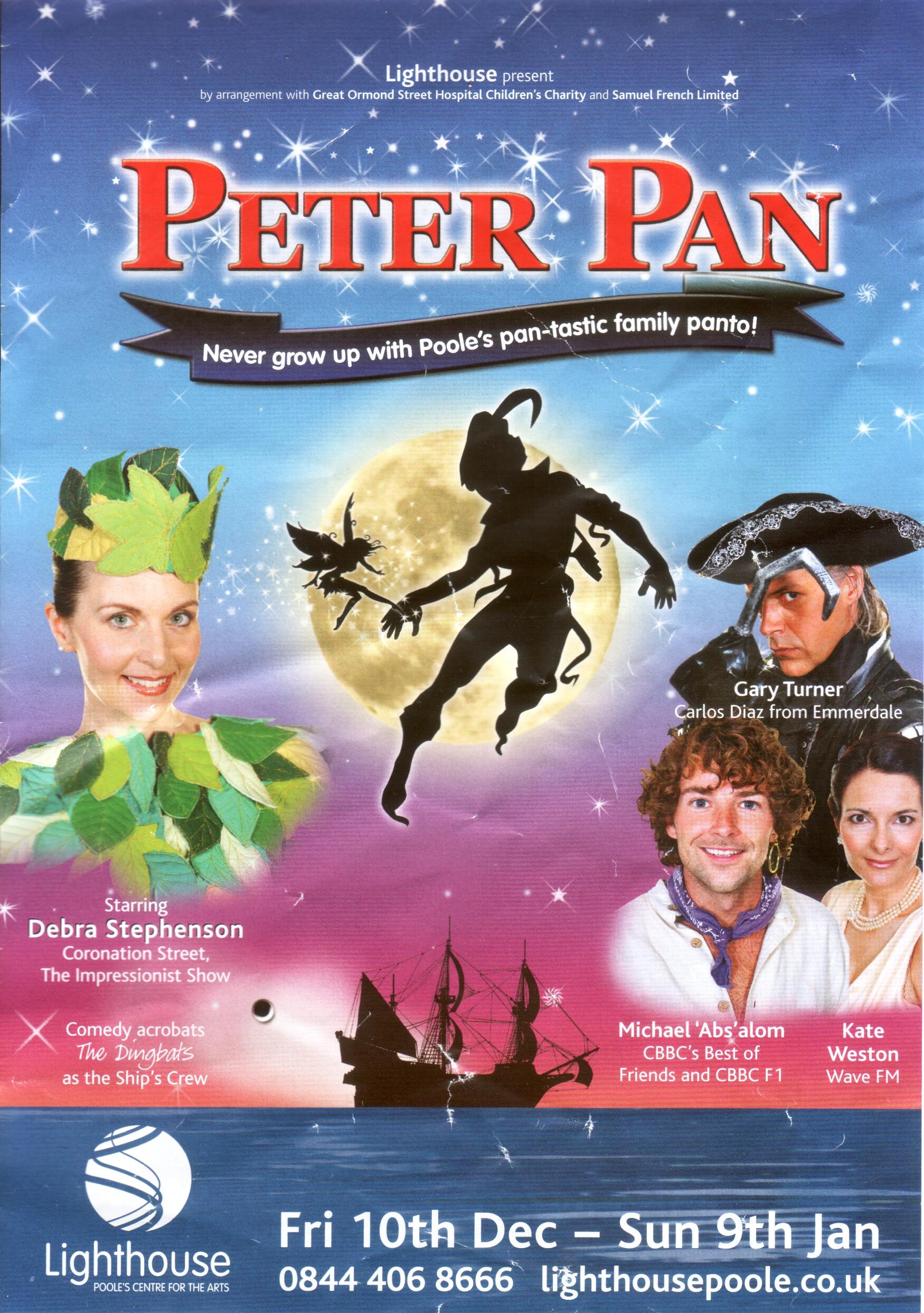 peter pan  pantomime