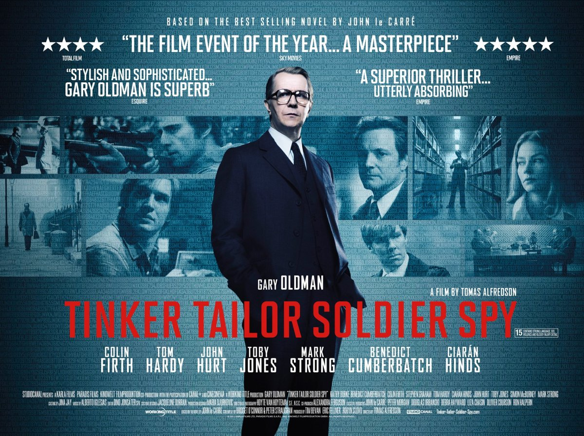Movie Posters 2011: Tinker, Tailor, Soldier, Spy