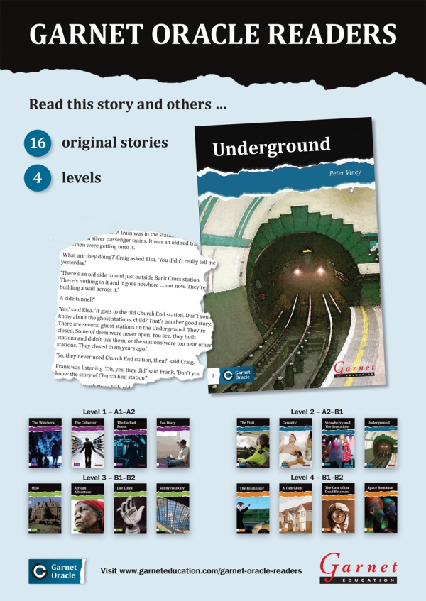 Underground poster copy