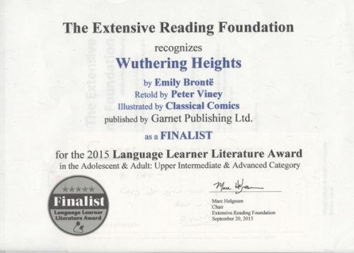 Wuthering Heights award