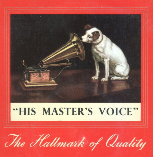HMV Nipper copy