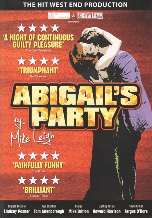 Abigail's party flyer