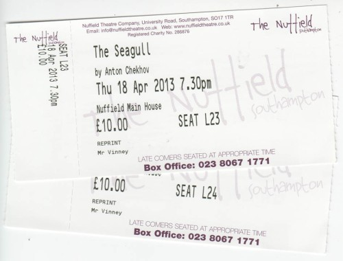 Seagull tickets
