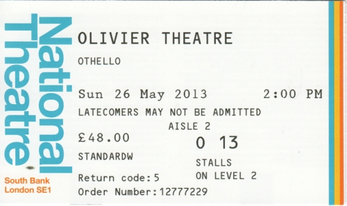 Othello ticket