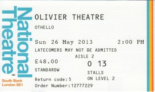 Othello ticket