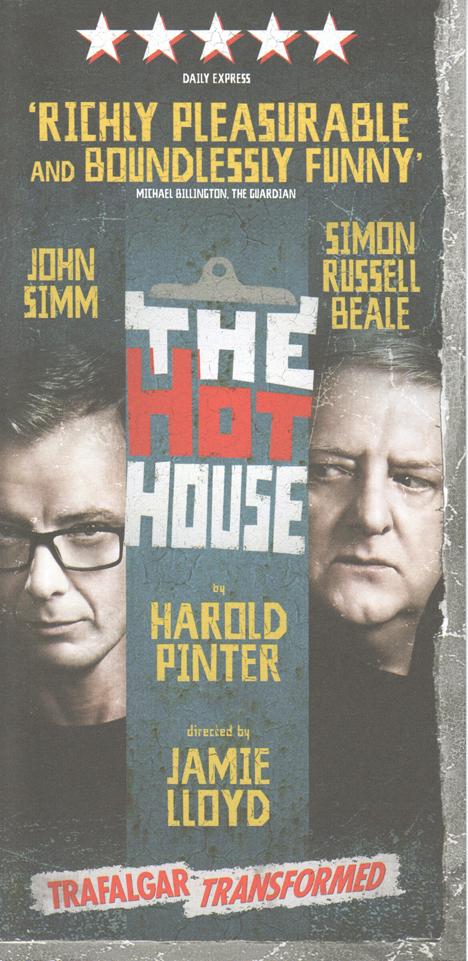 Hot House flyer