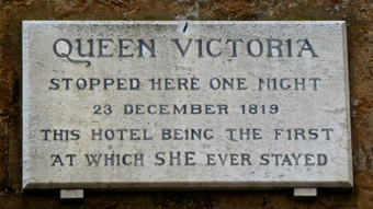 Queen Victoria plaque
