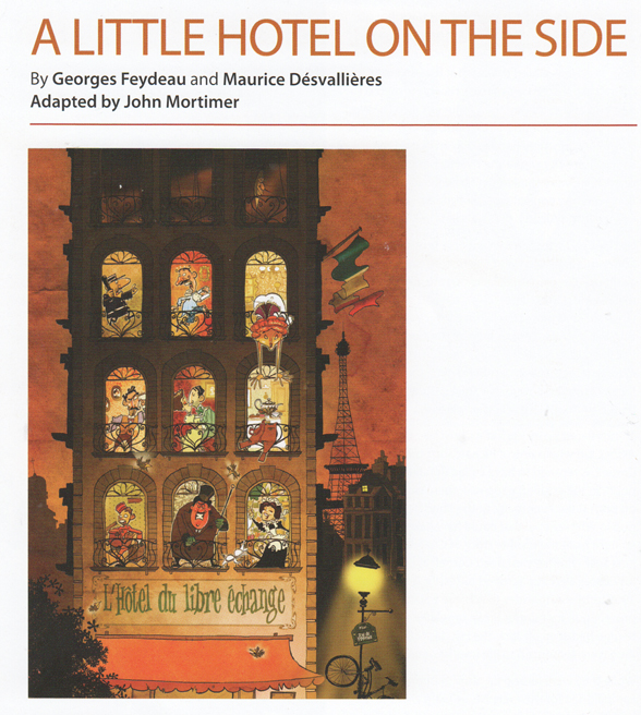 A little hotel on the side peter viney 39 s blog for French farce