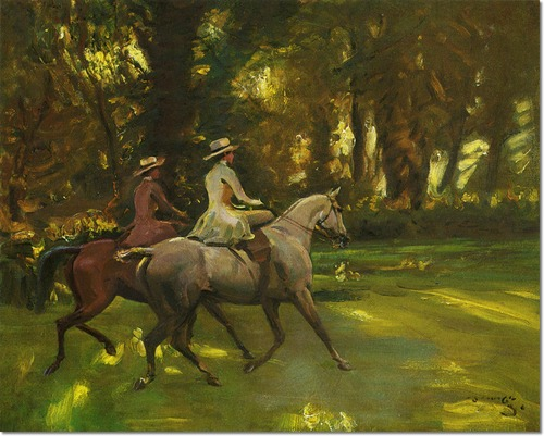 alfred-munnings-the-morning-ride