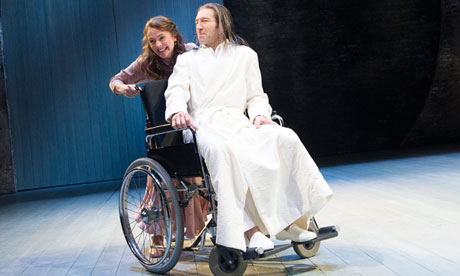 Joanna Horton and Greg Hicks in All's Well That Ends Well at the Royal Shakespeare Theatre