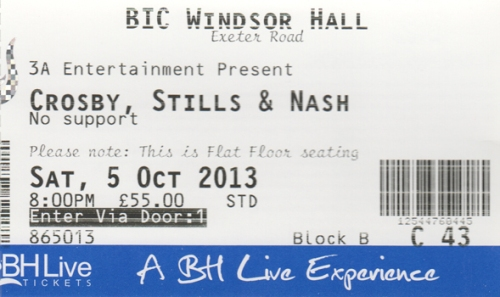 CSN ticket