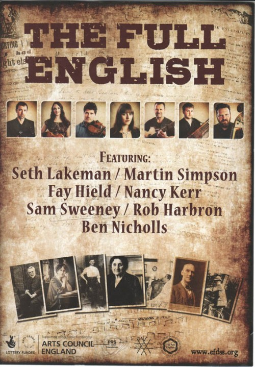 Full English flyer