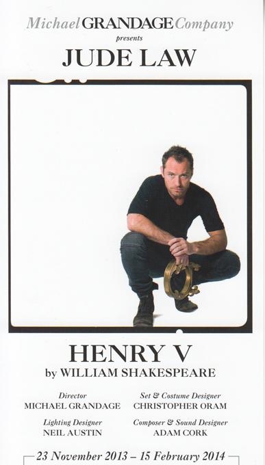 Henry V Law flyer