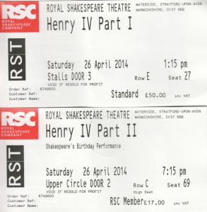 Henry IV tickets
