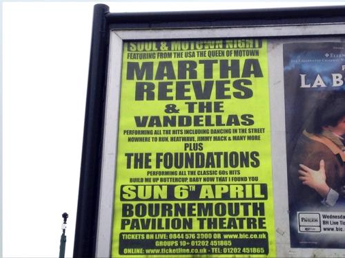 Martha Vandellas poster