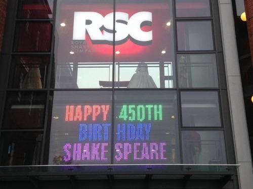 RSC 450 sign
