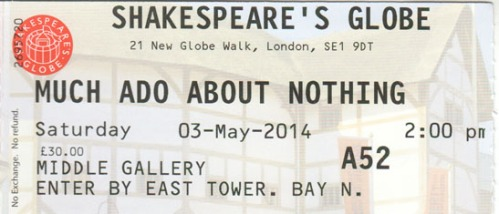 Much Ado tickets