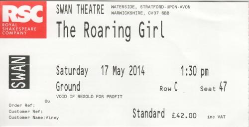 Roaring Girl tric