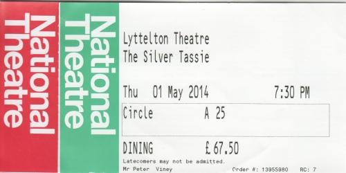 Silver Tassie ticketsjpg