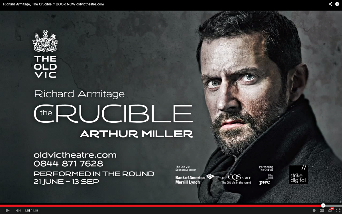 the crucible peter viney s blog richardarmitageinthecrucible vid promo 3014gratianalovelacecap
