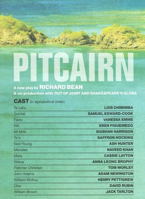 Pitcairn cast