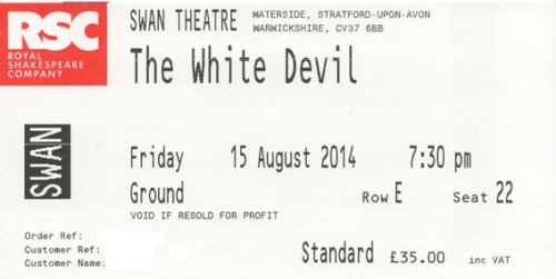 White Devil ticket