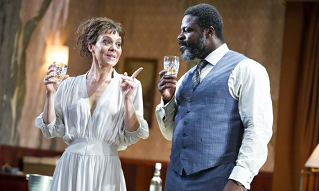Helen McCrory and Danny Sapani in Medea