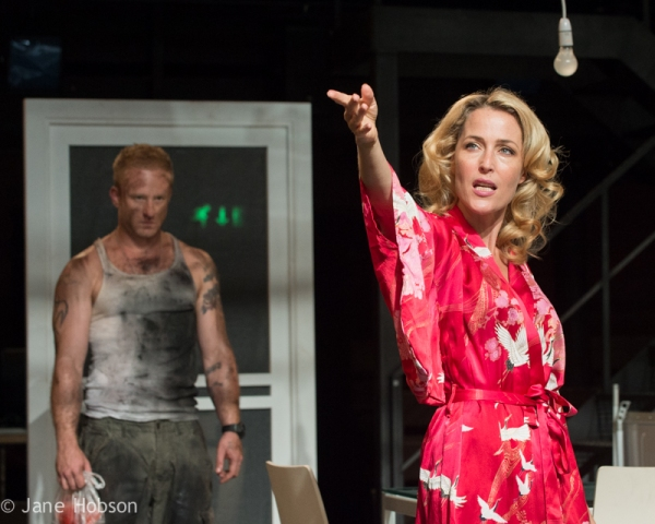 A STREETCAR NAMED DESIRE, with Gillian Anderson, Young Vic, London, UK.