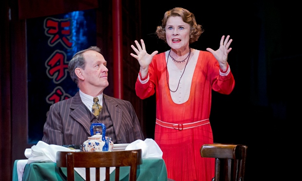 Kevin Whately (Herbie) and Imelda Staunton (Rose) in Gypsy