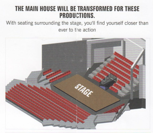 stage separate tables