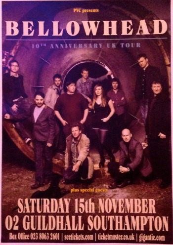 Bellowhead poster