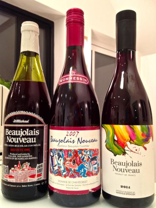 beuajolais nouveau