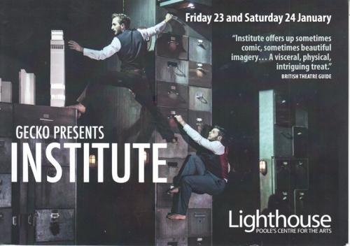 Institute flier