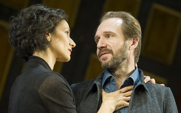'Man and Superman' Play by Bernard Shaw performed in the Olivier Theatre at the Royal National Theatre, London, UK