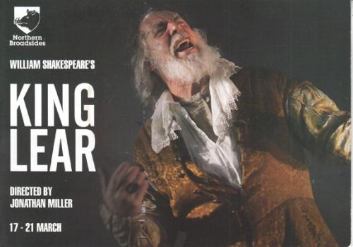 King Lear flyer
