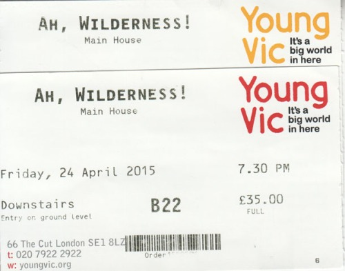 Ah Wilderness ticketrs