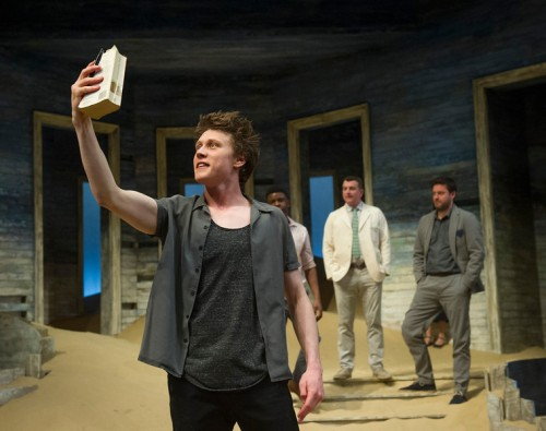 """'Ah Wilderness' Play by Eugene O""Neill performed at the Young Vic Theatre, London, UK"""