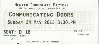 Communicating Doors ticket
