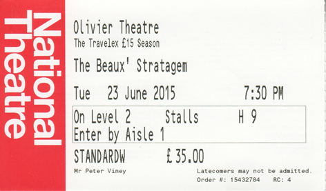 Beaux Strat ticket