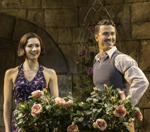 JP-12721Summer Strallen and Richard Fleeshman in Chichester Festival Theatre's A Damsel in Distress. Photo Johan Persson