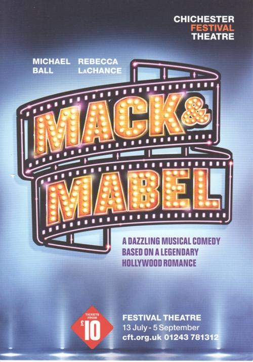 Mack & Mabel flier