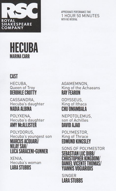 Hecuba cast