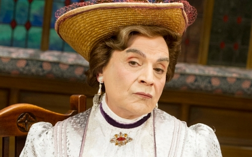 The Importance of Being Earnest performed at the Vaudeville Theatre David Suchet as Lady Bracknell ©Alastair Muir 27.06.14