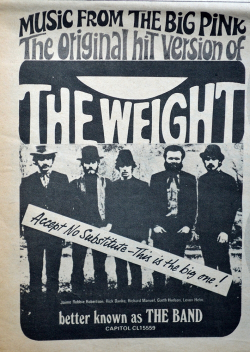 The Weight The Band CU