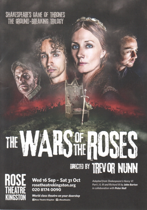 Wars of The Roses flier