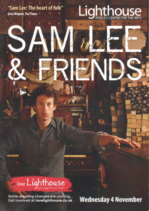 Sam Lee flier