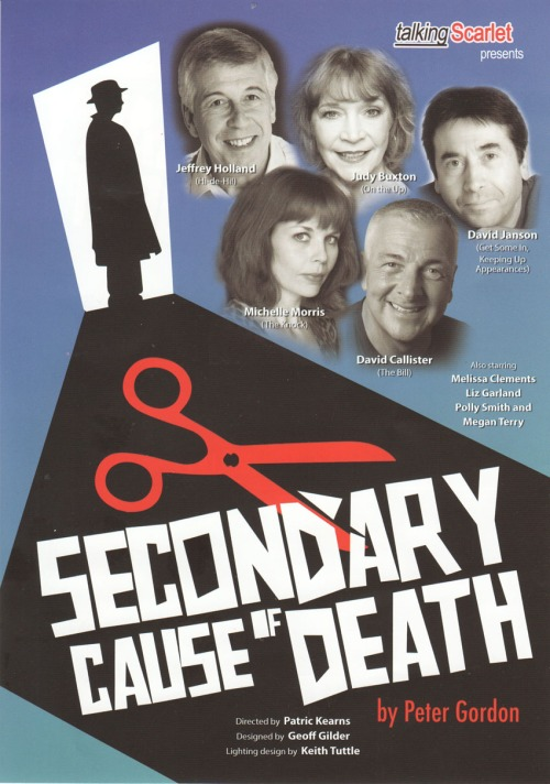 Secondary Cause of Death poster