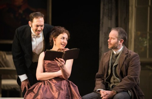 Ben-Caplan-Kirsty-Bushell-and-Damian-Humbley-in-Hedda-Gabler-at-Salisbury-Playhouse-Credit-Helen-Maybanks-700x455
