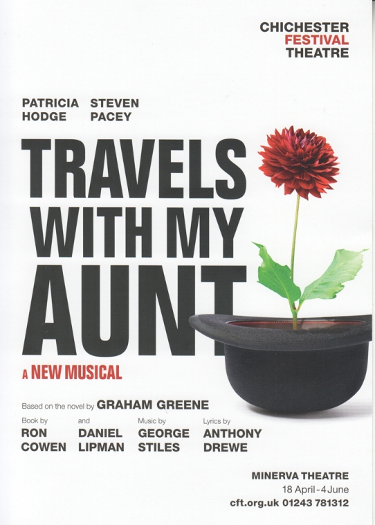 Travels with my aunt musical flier